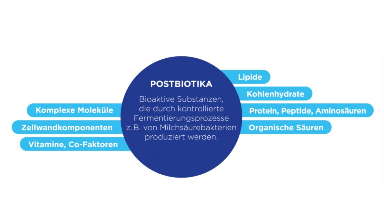 Beispiele für Postbiotika (Marco, et al. 2017)
